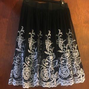 Mini skirt Alfani size small